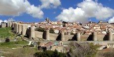 La vieille ville espagnole d'Ávila, en Castille-et-León, est classée au patrimoine mondial de l'Unesco depuis 1985.