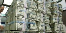 Cet excédent signifie que les Etats-Unis ont attiré plus de capitaux investis à long terme chez eux en novembre qu'ils n'en ont investis à l'étranger.