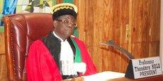 Theodore Holo, président de la Cour constitutionnelle du Bénin.