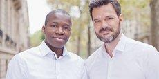 Polytechnicien, né au Sénégal, Tidjane Dème (à gauche) a dirigé Google en Afrique francophone avant de rejoindre Partech en 2016 afin de créer un fonds consacré aux startups africaines, qu'il co-dirige avec Cyril Collon (à droite), qui a travaillé dans la tech et les télécoms sur les marchés africains..