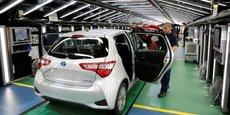 La Toyota Yaris est souvent décrite comme la voiture made in France la plus vendue au monde.