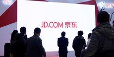 Le site de e-commerce chinois JD.com a réalisé un chiffre d'affaires de 37,5 milliards de dollars en 2016 (environ 30,4 milliards d'euros).
