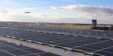 Les panneaux solaires ont été installés sur le toit du parking P2.