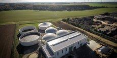La centrale de biométhane d'Eppeville.