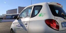 Lors du dernier CES, Valeo a présenté son prototype 100% électrique.