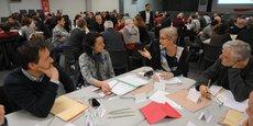 100 habitants ont participé au débat citoyen dans la Ville rose.