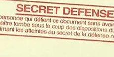 En France, 400.000 personnes, dont les deux tiers sont issus du ministère des Armées, sont habilitées au secret défense.