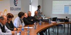 Présentation par William Audebert (CCI Lozère) du programme d'accompagnement aux partenaires de la démarche, le 31 janvier