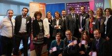 Le jury et les lauréats à Marseille du prix 10.000 startups pour changer le monde