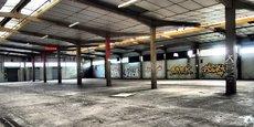 Cette grande halle fait partie de la friche industrielle de 40.000 m2 qui sera reconvertie pour accueillir le projet CESame à Marmande.