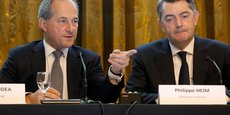 Frédéric Oudéa, le directeur général, et Philippe Heim, le directeur financier de la Société Générale, ont tenu à clarifier la question du traitement fiscal de la perte imputée à l'ex-trader Jérôme Kerviel.