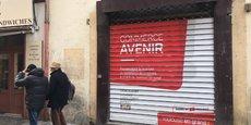 Les locaux disponibles à la location à Toulouse font l'objet d'un affichage spécial sur leur devanture.