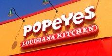 Popeyes, groupe fondé en 1972 aux États-Unis, compte plus de 2 700 restaurants dans le monde
