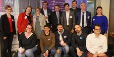 Le jury et les lauréats Pays-de-la-Loire / Bretagne / Normandie et Centre-Val-de-Loire du prix 10000 startups pour changer le monde.