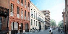 L'opération immobilière Castilhon, dans le quartier Jean-Jaurès à Toulouse, est le premier projet développé par le promoteur montpelliérain Haussmann dans la ville rose.