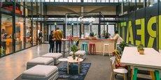Google dispose d'un espace de 150 mètres carré au sein de Station F, campus de startups situé dans le 13e arrondissement de Paris.