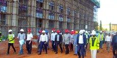 Construit par des entreprises chinoises, le futur siège du Parlement togolais devrait être livré en avril prochain.