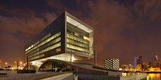L'incubateur Bahrain Fintech Bay est logé dans l'immeuble moderne d'Arcapita Bank, firme d'investissement spécialiste de la finance islamique, dans la capitale, Manama.