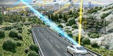 Le véhicule connecté recevra des alertes météo actualisées en temps réel.