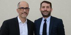 Jean-Christophe Tortora, Président de La Tribune, et Jean-Claude Gallo, Président d'Ecopresse ont officialisé la nouvelle le 19 février.