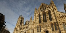 Cathédrale de York (nord de l'Angleterre), le 26 janvier 2015.