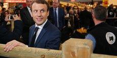 Emmanuel Macron, lors du dernier Salon de l'Agriculture en 2017.