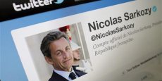 Compte Twitter de Nicolas Sarkozy - Photo : Reuters.