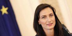 Mariya Gabriel, Commissaire européenne chargée de l'Economie et de la Société numériques.