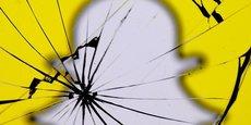 L'application de messagerie éphémère, Snapchat, revendiquait 187 millions d'utilisateurs fin 2017.