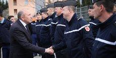 Le ministre de l'Intérieur Gérard Collomb a annoncé ce vendredi 9 mars des renforts de police et de gendarmerie.