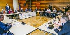 Aperçu sur l'un des derniers comités de suivi consacrés à Ford Aquitaine Industries à la préfecture de la Gironde.