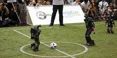 Les robots de Rhoban sont des géants d'intelligence artificielle et mécanique.