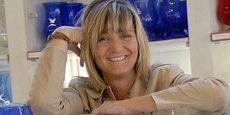 Anne Lechaczynski, PDG de la Verrerie de Biot.
