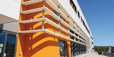 Les locaux du LIRMM, sur le campus Saint-Priest de Montpellier