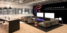 Le futur Gaming Campus