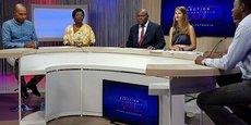 Le plateau d'ATV Guadeloupe, l'une des trois chaînes reprises