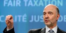 Pierre Moscovici, commissaire européen aux Affaires économiques, présentait ce mercredi le projet de taxation des GAFA.