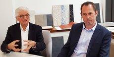 Jacques Rubio (directeur général de Kaufman & Broad Occitanie - Nouvelle Aquitaine) et Julien Destouches (directeur de l'agence Languedoc-Roussillon).