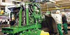 L'usine John Deere de Mannheim expérimente de nouvelles méthodes de formation en îlots.