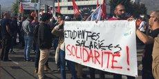 Les salariés avaient manifesté devant l'entreprise à l'automne dernier pour contester le PSE qui prévoit la suppression de 345 postes à Grenoble.
