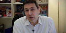 Le patron de la chaîne Nolife Sebastien Ruchet le premier avril.