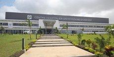 Le CHU de la ville d'Owendo (au sud de la capitale), sorti de terre en 2016, moins de deux ans après le démarrage des travaux, a une capacité d'accueil de 150 lits.