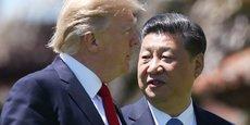 Le président américain Donald Trump et son homologue chinois Xi Jinping.