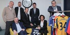L'équipe d'Elite Patrimoine gère la fortune de 90 clients dont 65 sportifs français.