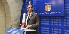 Renaud Muselier, président LR de la Région Sud.