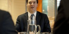 Le ministre des Finances britannique, George Osborne. Copyright AFP