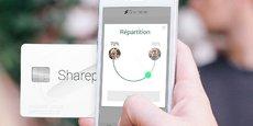 L'appli de Sharepay permet de répartir une dépense en temps réel entre plusieurs personnes (couple, groupe d'amis, colocataires). L'abonnement au service est facturé 4,90 euros par mois. Linxo va intégrer ses technologies de cartes intelligentes à son offre d'agrégation de comptes bancaires.