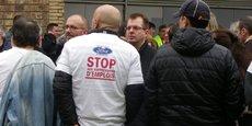 Début de mobilisation générale pour Ford Aquitaine Industries.