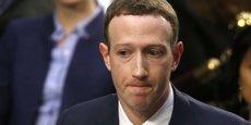 Mark Zuckerberg, Pdg et co-fondateur de Facebook, a présenté ses excuses officielles devant le Congrès américain, mardi 10 avril, lors de son audition sur l'affaire Cambridge Analytica.