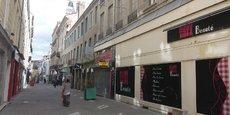Le centre-ville de Saint-Etienne